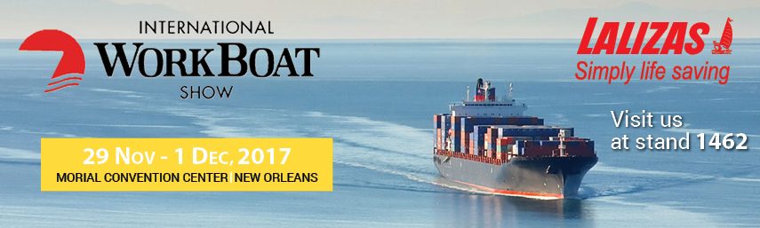 LALIZAS au Salon International Workboat 2017