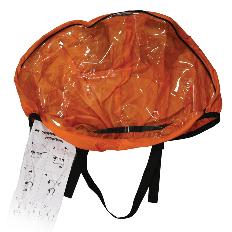 Masque de protection (ISO-12402-8) pour gilets gonflables ISO 12402-3 image